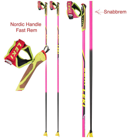 Leki - Race Shark Pink