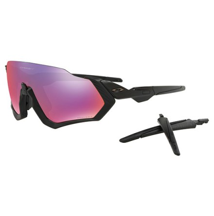 Oakley Fligth jacket - Matte Black Prizm Road