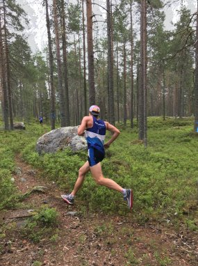 Fantastisk stämning på Northsport trail!