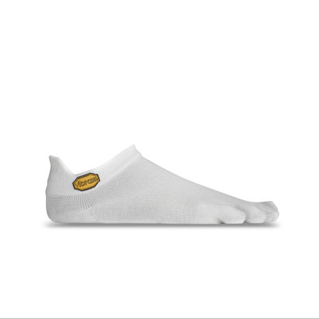 Vibram 5toe sock no show white