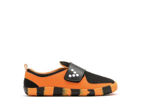Vivobarefoot - Mini Primus Kids K X Aspinall - Tiger Orange/Black MINI PRIMUS