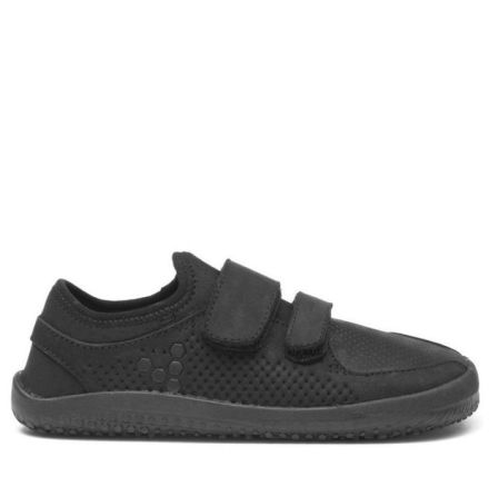 Vivobarefoot Primus School Kids Black Leather