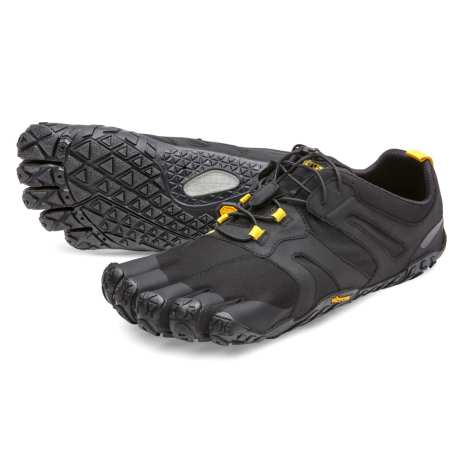 W's Vibram FiveFingers - V-Trail 2.0 Black/Yellow