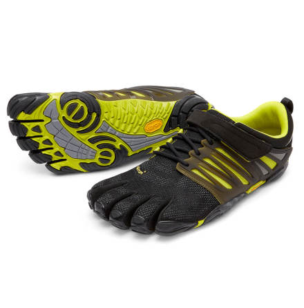 M's FiveFingers - V-Train - Black/Green