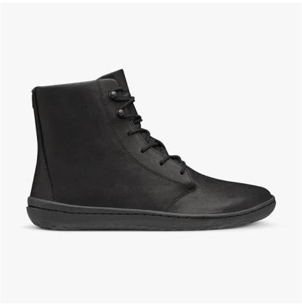 W's Vivobarefoot Gobi Hi III Black Leather