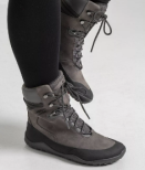 W´s VivoBarefoot - Tracker Hi Fg Dark Grey Leather