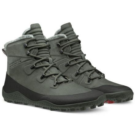 M's VivoBarefoot - Tracker Snow SG - Dark Grey