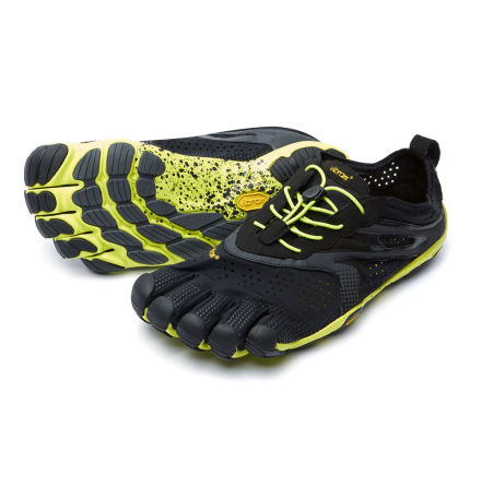 M's Vibram FiveFingers - V-RUN - Black/Yellow