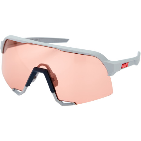 100% - S3 - Soft Tact Stone Grey / Coral