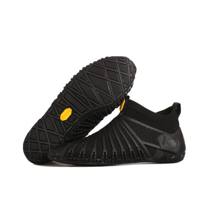 W's Vibram Furoshiki Knit High Black