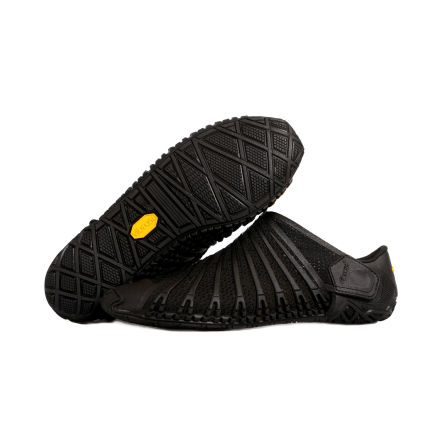 Kid's Vibram Furoshiki Knit Black