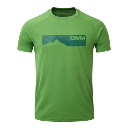 OMM - M's Bearing Tee S/S - Green Mountains