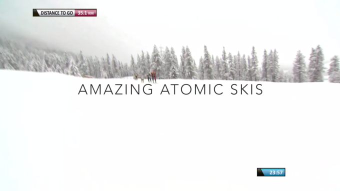 Amazing Atomic skis