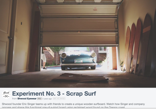 Experiment No. 3 - Scrap Surf