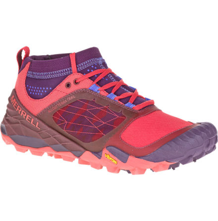 W's Merrell All Out Terra Trail - Wild Plum/Red
