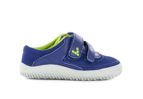 Vivobarefoot Kids Reno Leather - Navy