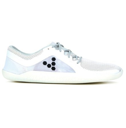 M's VivoBarefoot Primus Road - White/Flame Orange