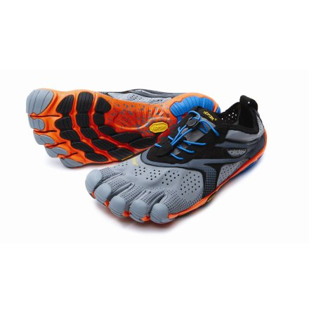 M's Vibram FiveFingers - BIKILA EVO 2 (V-RUN) - Grey/Blue/Orange