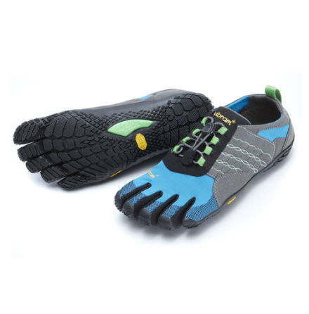 W's Vibram FiveFingers Trek Ascent - Grey/Blue/Green