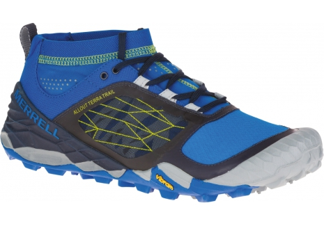 M's Merrell All Out Terra Trail - Blue/Dragonfly