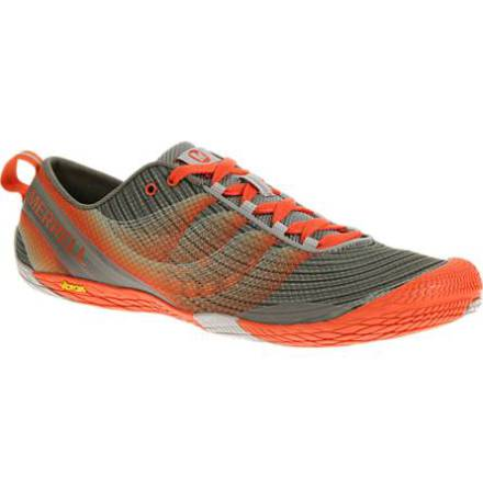 M's Merrell Vapor Glove 2 - Grey/Spicy Orange - FYND EU50