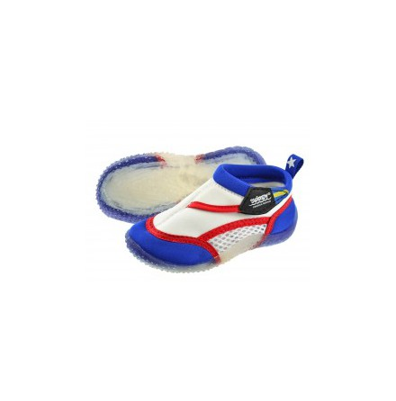 Swimpy Beach Shoes - White/Blue