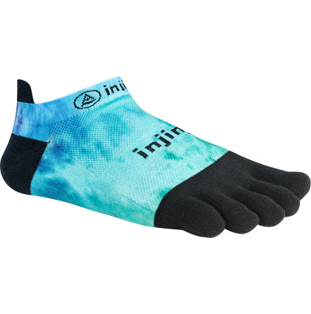 Injinji - Spectrum Run Lightweight No-Show - Open Water