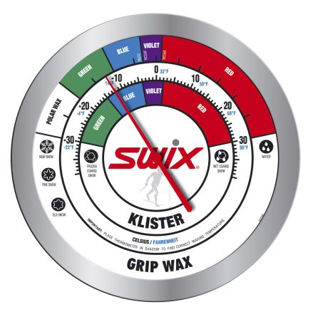 Swix - Rect. Wall Thermometer - Round