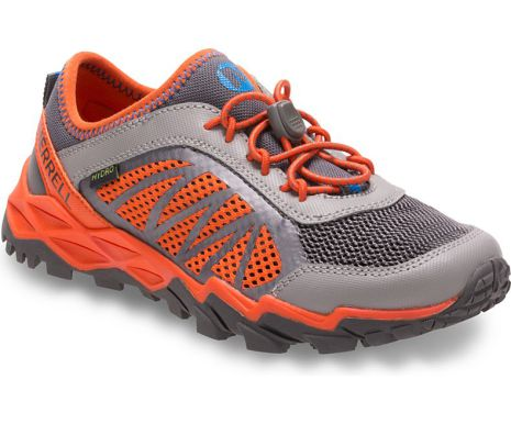 Merrell Big Kid - Hydro Run 2.0 Sneaker - Grey/Orange