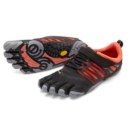 W's FiveFingers - V-Train - Black/Coral/Grey
