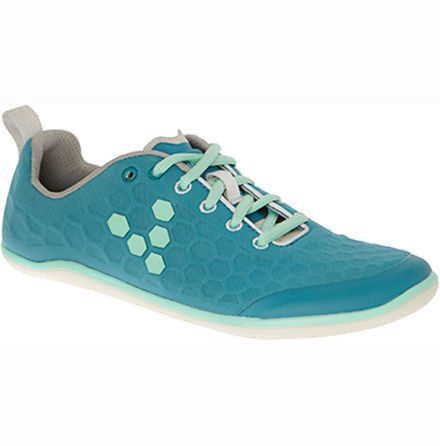 W's VivoBarefoot - Stealth Grey/Teal