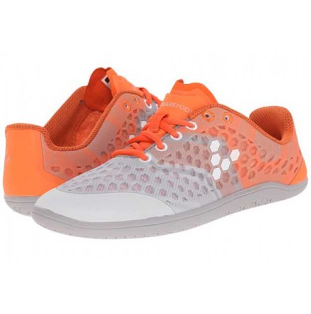 W's VivoBarefoot - Stealth 2 Grey/Orange