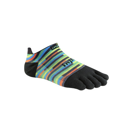 Injinji - Spectrum Run Lightweight No-Show - Spiffy Spectrum