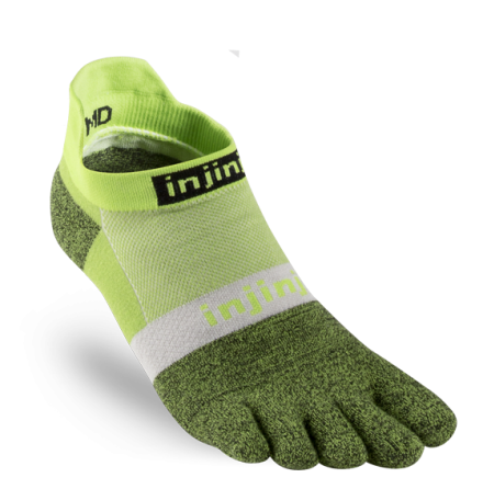 Injinji - Spectrum Run Lightweight No-Show - Chive