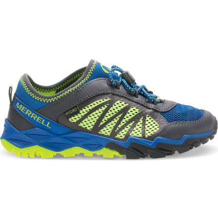 Merrell Big Kid - Hydro Run 2.0 Sneaker - Blue/Grey/Citron
