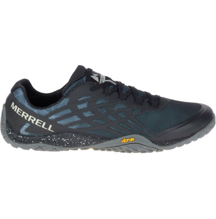 M's Merrell Barefoot - Trail Glove 4 - Space Black