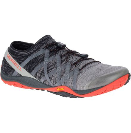 M's Merrell Barefoot - Trail Glove 4 Knit - Charcoal