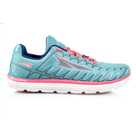 W's Altra One V3 - Light Blue/Coral