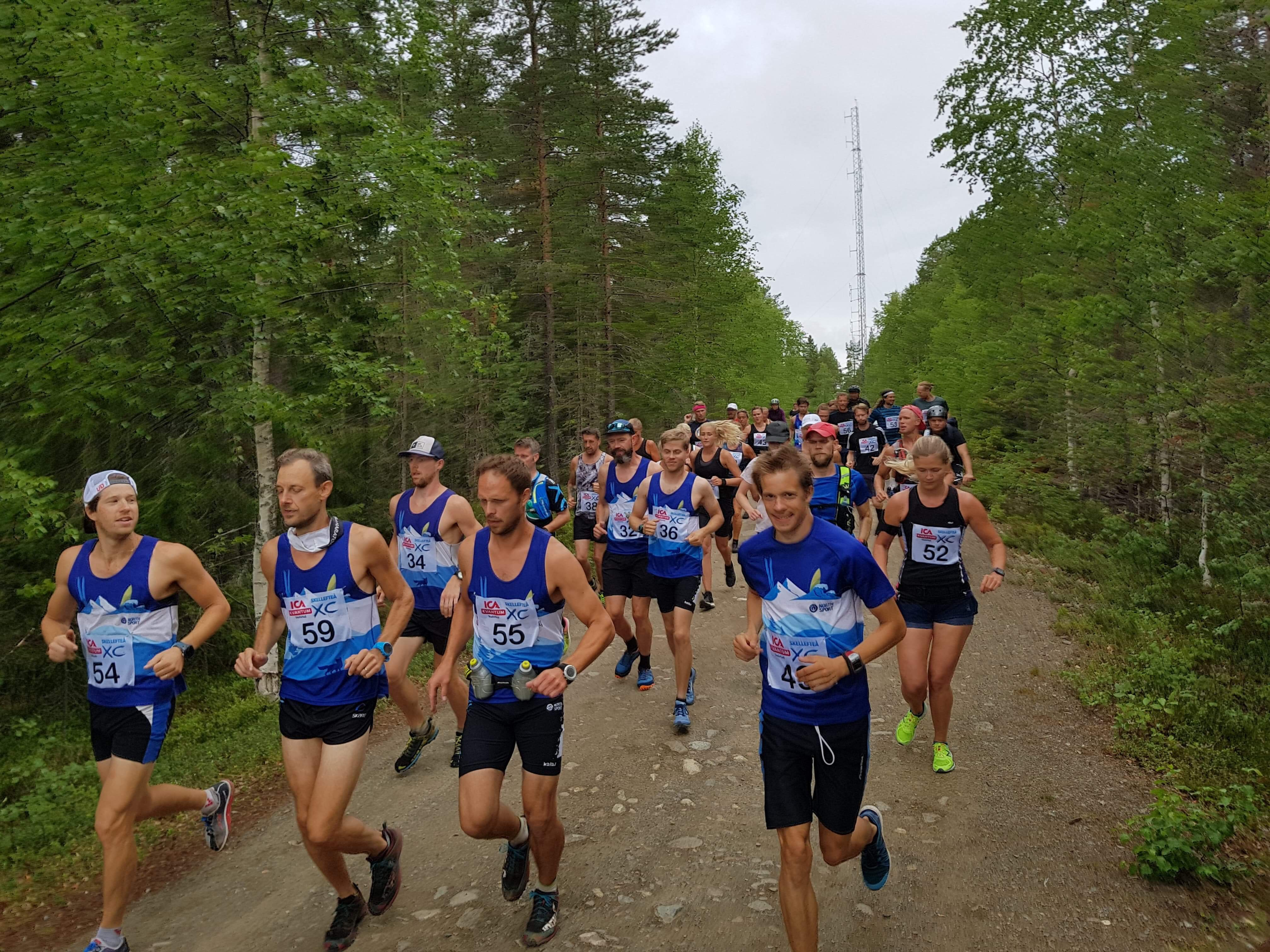 Northsport trail start